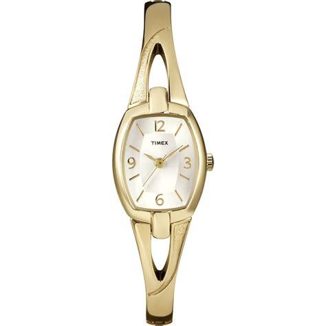 timex t2n824 s everyday dress gold bracelet