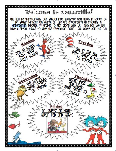 first with franklin dr seuss week