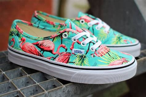 vans flamingo pattern vans authentic turquoise flamingo flamant rose post