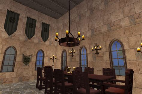 castle home decor mod the sims medieval furniture add ons