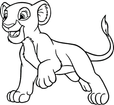 coloring pictures of lion cubs lion cub coloring pages tiger coloring pages to print cute