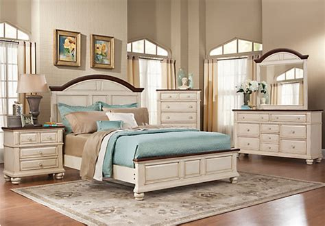 White Bedroom Set Queen Berkshire Lake Queen White 5pc Panel Bedroom Bedroom Sets