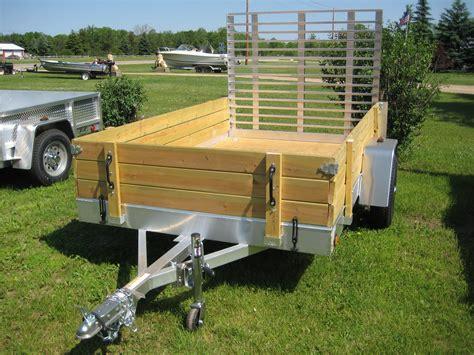 aluminum utility trailer ut series wood floor w wood