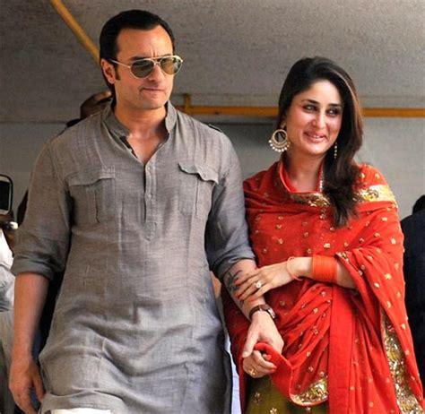 saif ali kareena kapoor saif kareena exchange vows after marriage registry