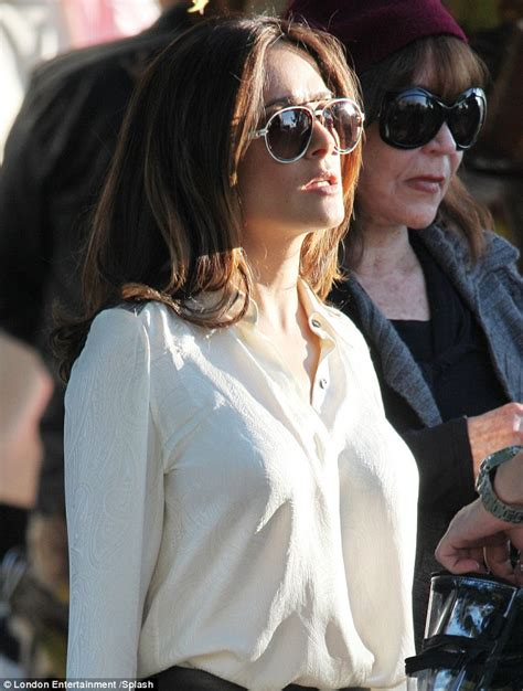 Salma Hayek Is Engaged And Knocked Up by Salma Hayek Ensures Brosnan S Attention In