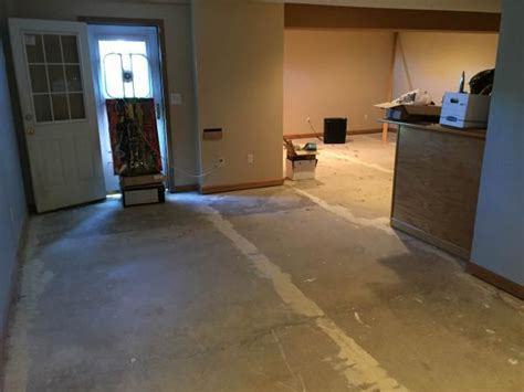 sealing concrete basement floor doityourself