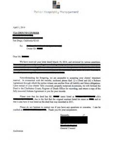 resorts timeshare cancellation letter timeshare