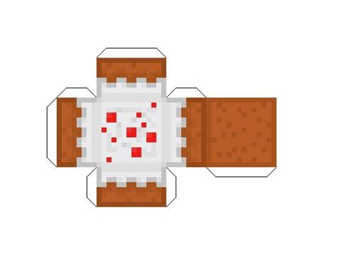 Minecraft Cake Papercraft - 22 best images about papercraft for minecraft on
