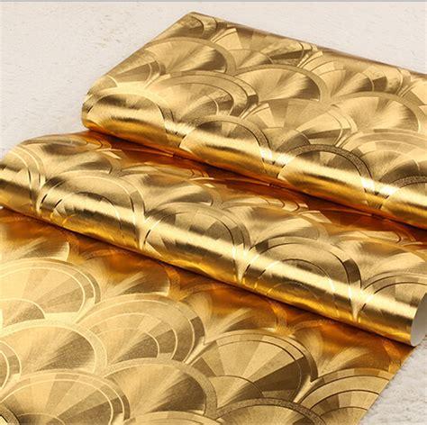 wallpaper emas foil emas wallpaper beli murah foil emas wallpaper lots