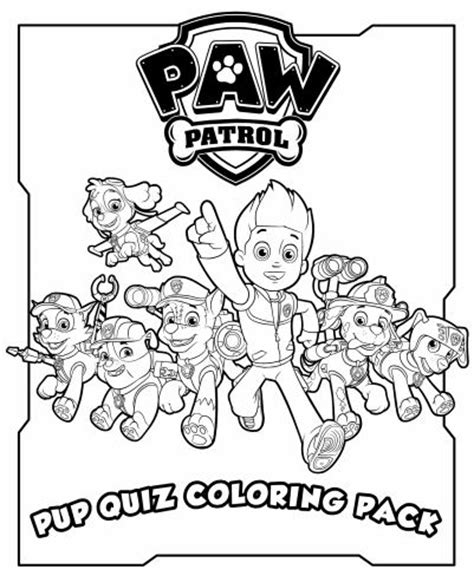 puppy patrol coloring page pup patrol coloring coloring pages