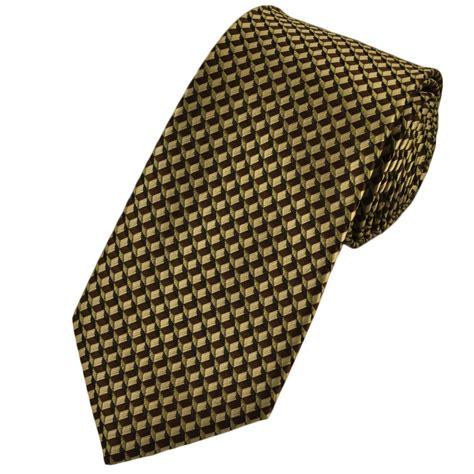 brown pattern tie beige brown patterned extra long tie from ties planet uk