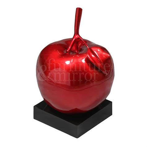 resin fruit apple table decor furniture and mirror