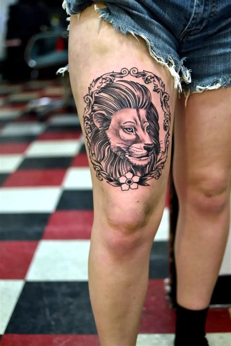 girl lion tattoo designs 64 designs for and inspirationseek