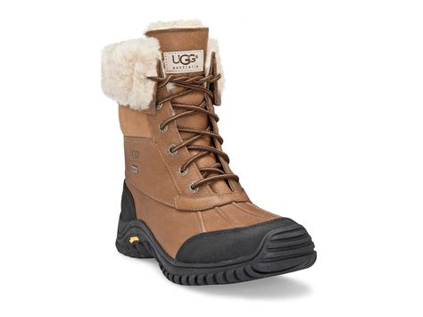 white ugg boots for lyst ugg adirondak snow boots in white