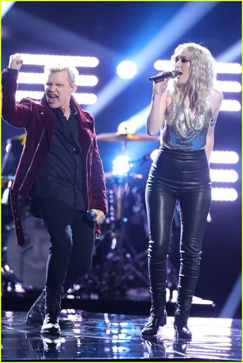 Jonathan Rhys Meyers And His Billy Idol Snarl by Kohanski Sings With Billy Idol On The Voice Finale