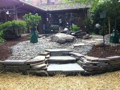 Backyard Rock Garden with Back Yard Rock Garden Top Quality Landscaping Inc Northeast Ohio