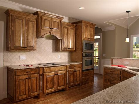 woodwork cabinets tuscan kitchen design style decor ideas