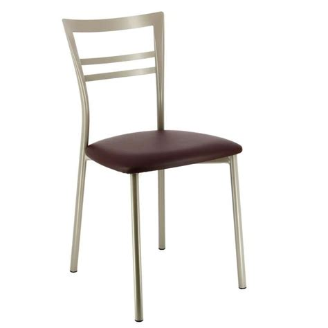 chaise cuisine design chaise de cuisine design en m 233 tal go 4 pieds tables