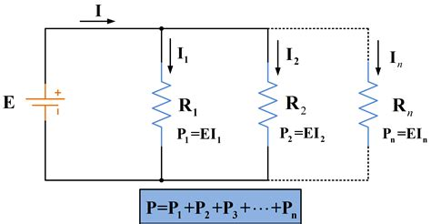 power dissipated in a resistor parallel circuit definition parallel circuit exles electrical academia