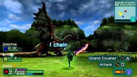 phantasy portable 2 infinity gameplay psp phantasy portable 2 gameplay eng