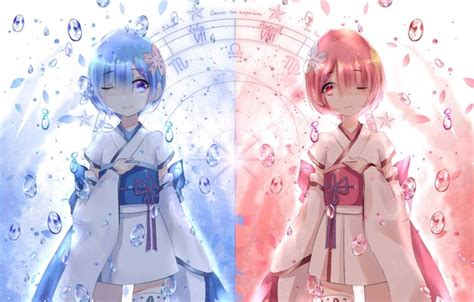 Big 0 Anime by Wallpaper Children Anime Ram Rem Re Zero Kara
