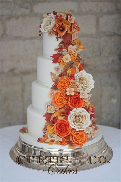Wedding Cake Ideas For Fall by 25 Best Ideas About Fall Wedding Cakes On