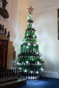 beer bottle christmas tree house pinterest