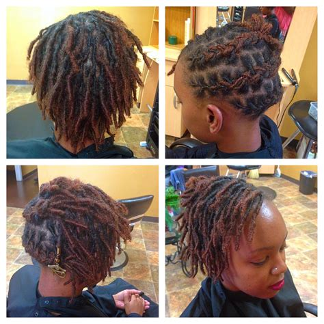 First Month Starter Dreadlocks Medium Length | how i successfuly organized my very own loc hairstyles for