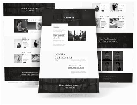 Needyesterday Layouts Elegant Divi Layouts Divi Layout Templates
