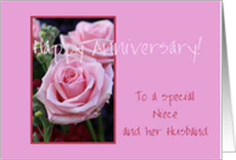 Wedding Anniversary Message For Niece by Wedding Anniversary Cards For Niece Husband From