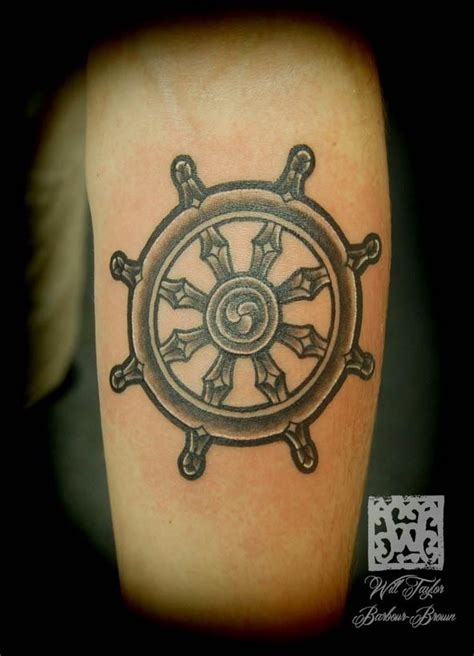 dharma wheel tattoo 126 best images about ideas on buddhism