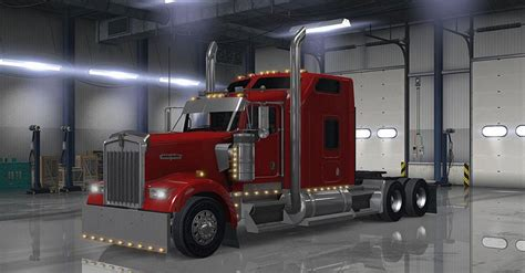 kenworth truck parts and accessories kenworth w900 accessories v1 2 ats euro truck simulator 2