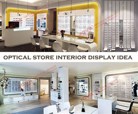 optical shop design layout first class glasses display furniture newest store layout