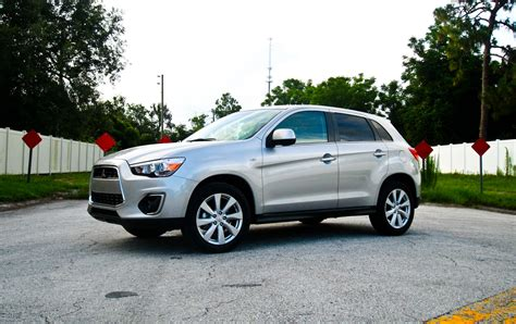 mitsubishi outlander sport 2014 red 2014 mitsubishi outlander sport se driven review top speed