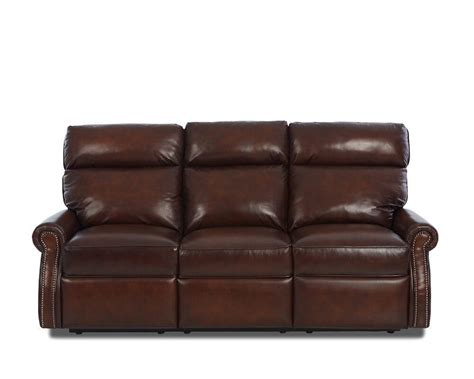 Made Leather Sofa Comfort Design Jackie Reclining Leather Sofa Clp729