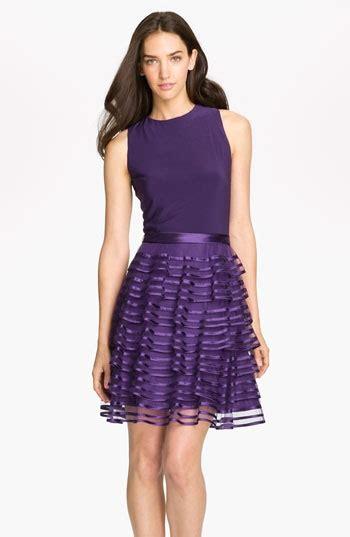 Skirt Black 5905 kathy tiered skirt mixed media dress nordstrom