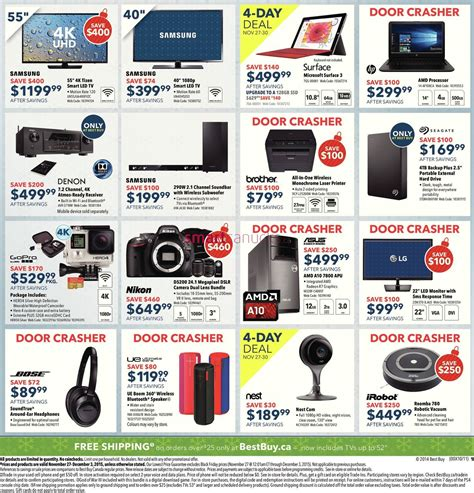 best deals in canada black friday