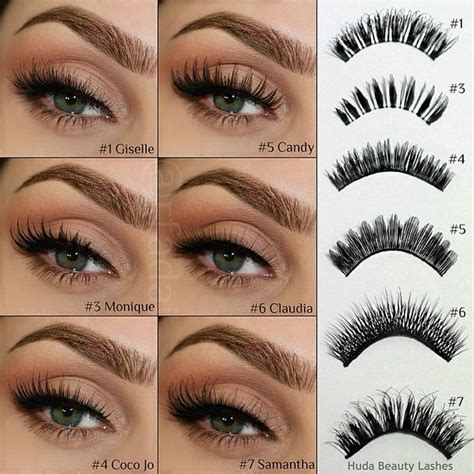 6 Best Eyelashes by 1446 Best My Secrets Images On