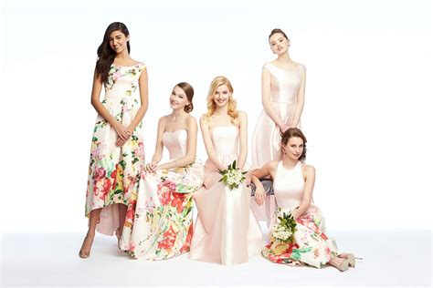Mixn Match Couture by 6 Must See Mix Match Bridesmaid Looks The Dessy