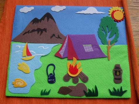 felt board stories 111 best busy book cing images on busy