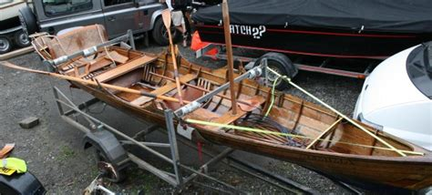 skiff boats for sale uk 1890 s thames rowing wooden sailing skiff for sale