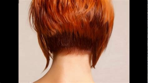 Back Hairstyles by Hairstyles Back View Stacked Www Pixshark