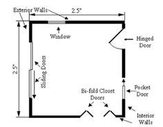 How To Draw A Sliding Door In A Floor Plan | how to draw a floor plan sliding door on a drawing 18 how