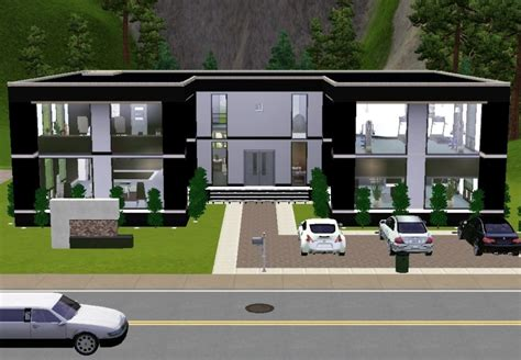 sims 3 modern house design ultra modern house plans sims 3 home design and style