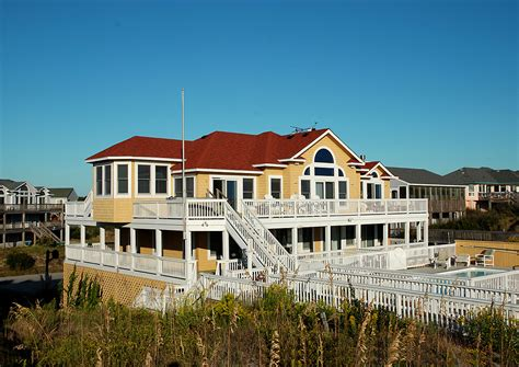 oceanfront house rentals outer banks bamboo corolla nc vacation rental vacagetaways