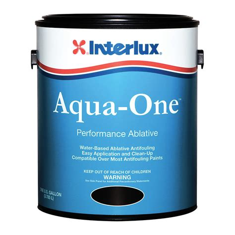 boat bottom paint salt water interlux aqua one water based bottom paint quart