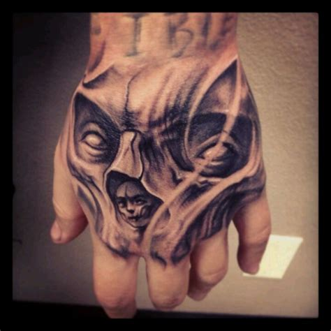 tattoo on the hand black hand tattoo black and grey amazing detail hand