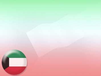 powerpoint templates kuwait kuwait flag 04 powerpoint templates