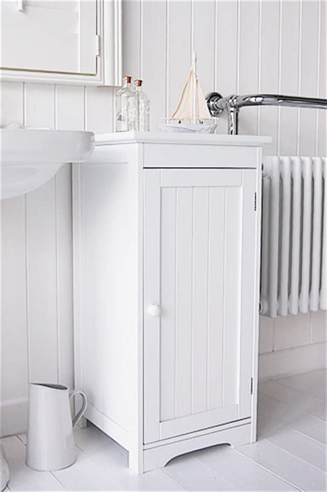 Freestanding White Bathroom Furniture White Freestanding Bathroom Storage With Knob Handle Cabinet