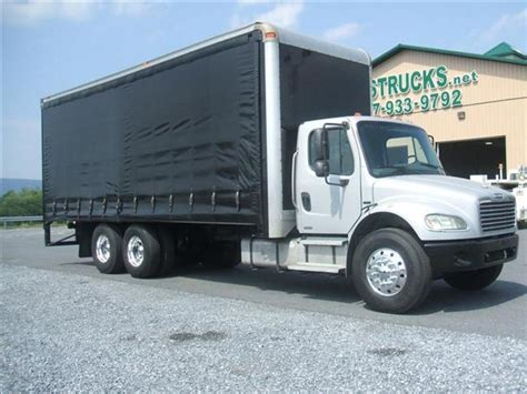 Used 2004 Freightliner M2 Curtain Side Truck For Sale